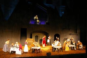 Sweeney Todd - ein grandioses Erlebnis bei den Schlossfestspielen Ettlingen